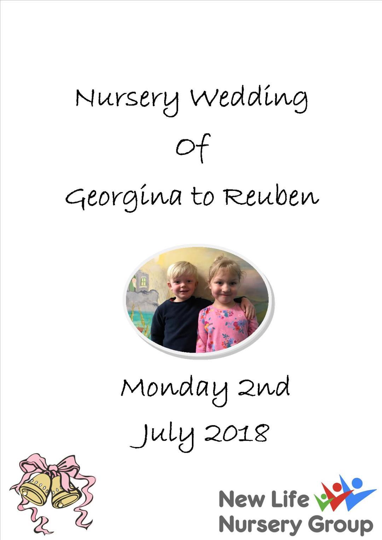 Nursery Wedding image
