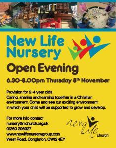 Nursery open day chron advert-page-001 (1)